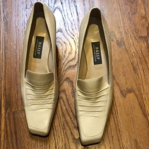 Brand new Bally low heel shoes